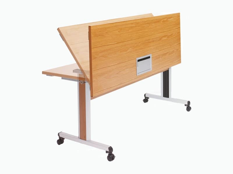 folding table on wheels for conference rooms | idfdesign