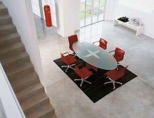 Picture of Valeo meeting table VCF.S05, modern table