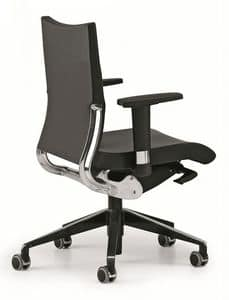 AVIA 4006, Operational office chair, aluminum backrest support