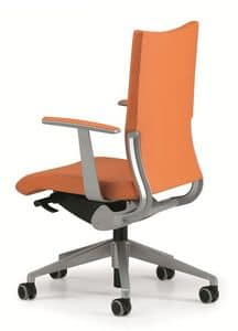 AVIA 4011, Padded chair for operations office, with wheels