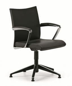 AVIA 4104, Office chair, 5-star base with feet, with armrests