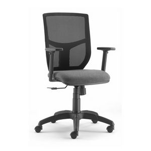 Berlin 348, Office chair for workstation, with stuffed seat