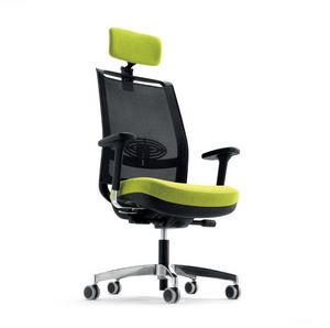 Giulia 327 H, Office chair with mesh backrest