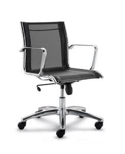 Picture of LUX LX602B, adjustable office chair