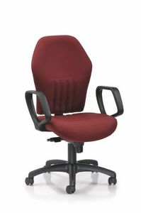 Tuxedo 380, Office chair with non-deformable polyurethane foam padding