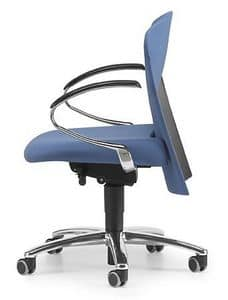 VULCAN 1442 Z, Operational office chair with blocking system
