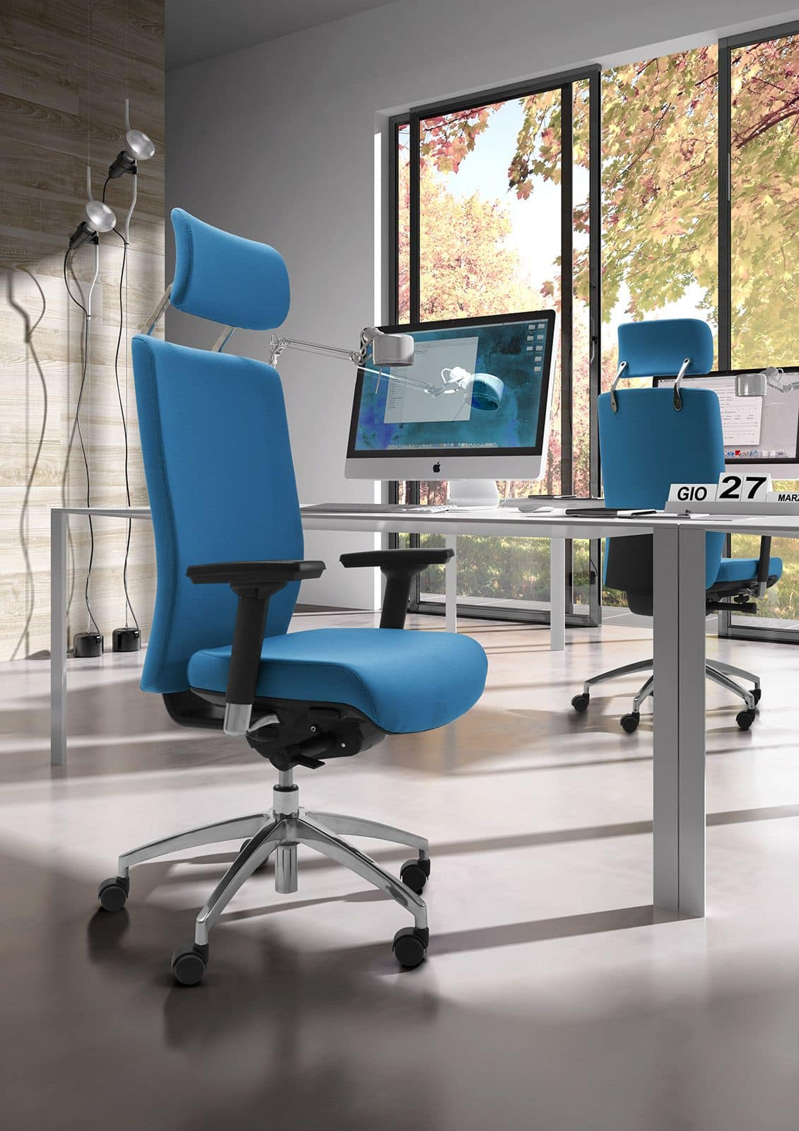 office chair wiki. Wiki Upholstered , Operational Office Chair With Armrests And Headrests A