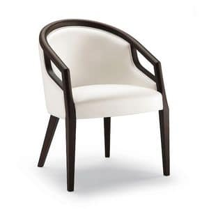 Picture of HULA armchair 8630A, modern stuffed armchair