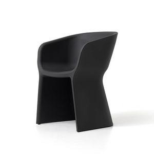 Margarita armchair, Modern tub chair, in polyethylene