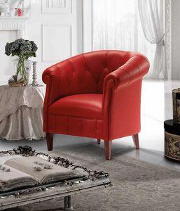 MARGOTT armchair, Classic armchair, with an English style
