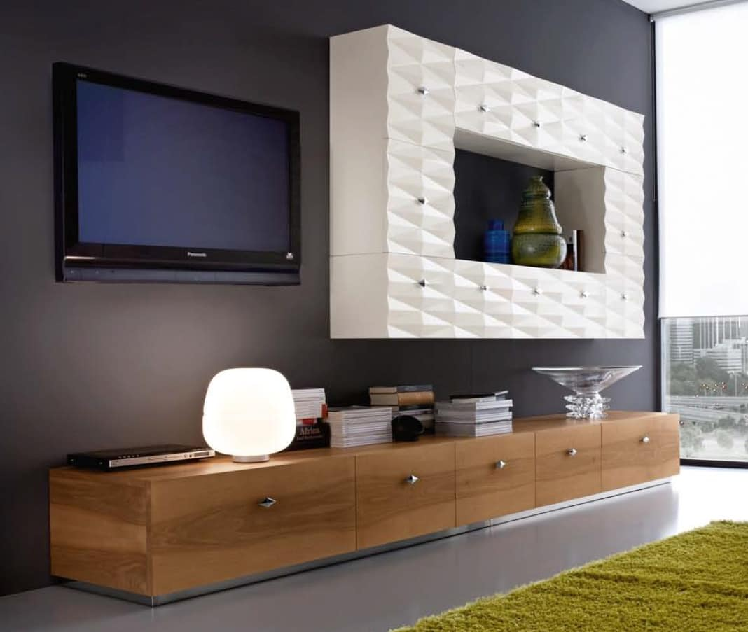 Diamante Art. D41, Living Room Furniture, With Wall Cupboards And Drawers Part 49
