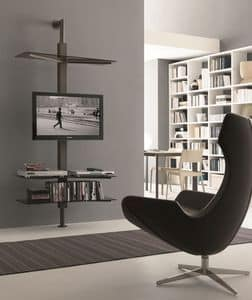 xl.83, Adjustable TV-stand, wall or ceiling