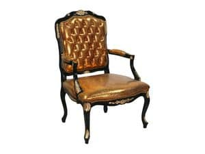 Picture of Ambrosia, elegant upholstered armchair