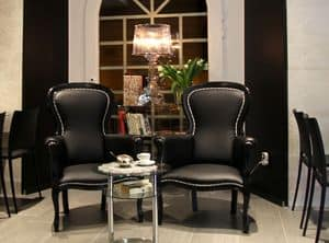 Picture of Epoque, buttoned armchair