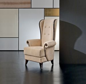 Mikado MK158, Classic bergere armchair with high backrest