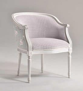 Picture of ORNELLA armchair 8039A, wooden armchairs
