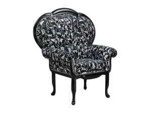 Picture of Penelope PM, decorated armchair