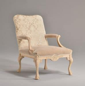 Picture of STRADIVARI armchair 8261A, luxury small throne