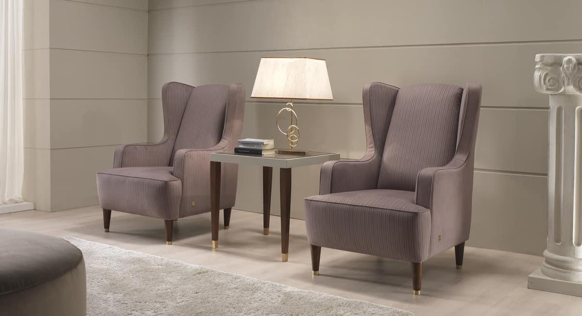 Vivien, Waiting Armchair, Classic Style