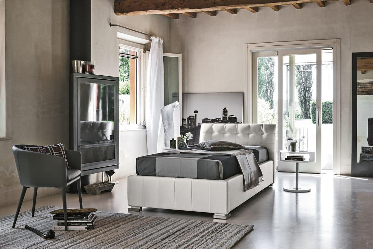 CHAMONIX SB427, Single bed ideal for modern bedrooms