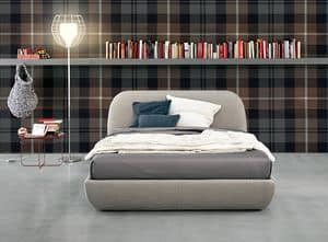 Picture of Ekeko, beds with upholstered frame
