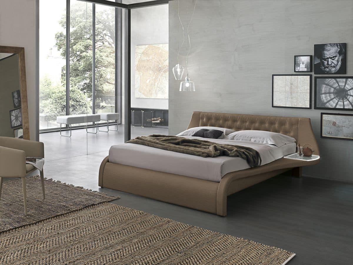 GIGLIO KB443, Modern king size bed ideal for hotel and bedrooms