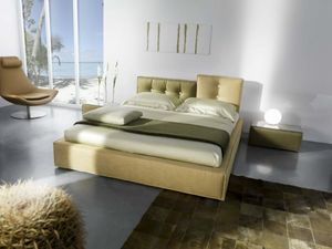 Lerry, Padded bed, with completely removable fabric