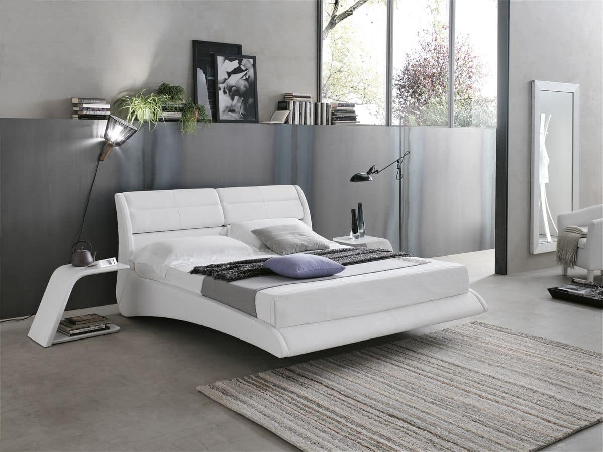 PONZA BD449, Double bed suited for modern bedrooms