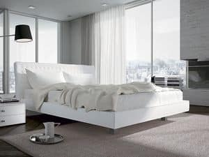 Picture of Pyllon, bed upholstered in fabric