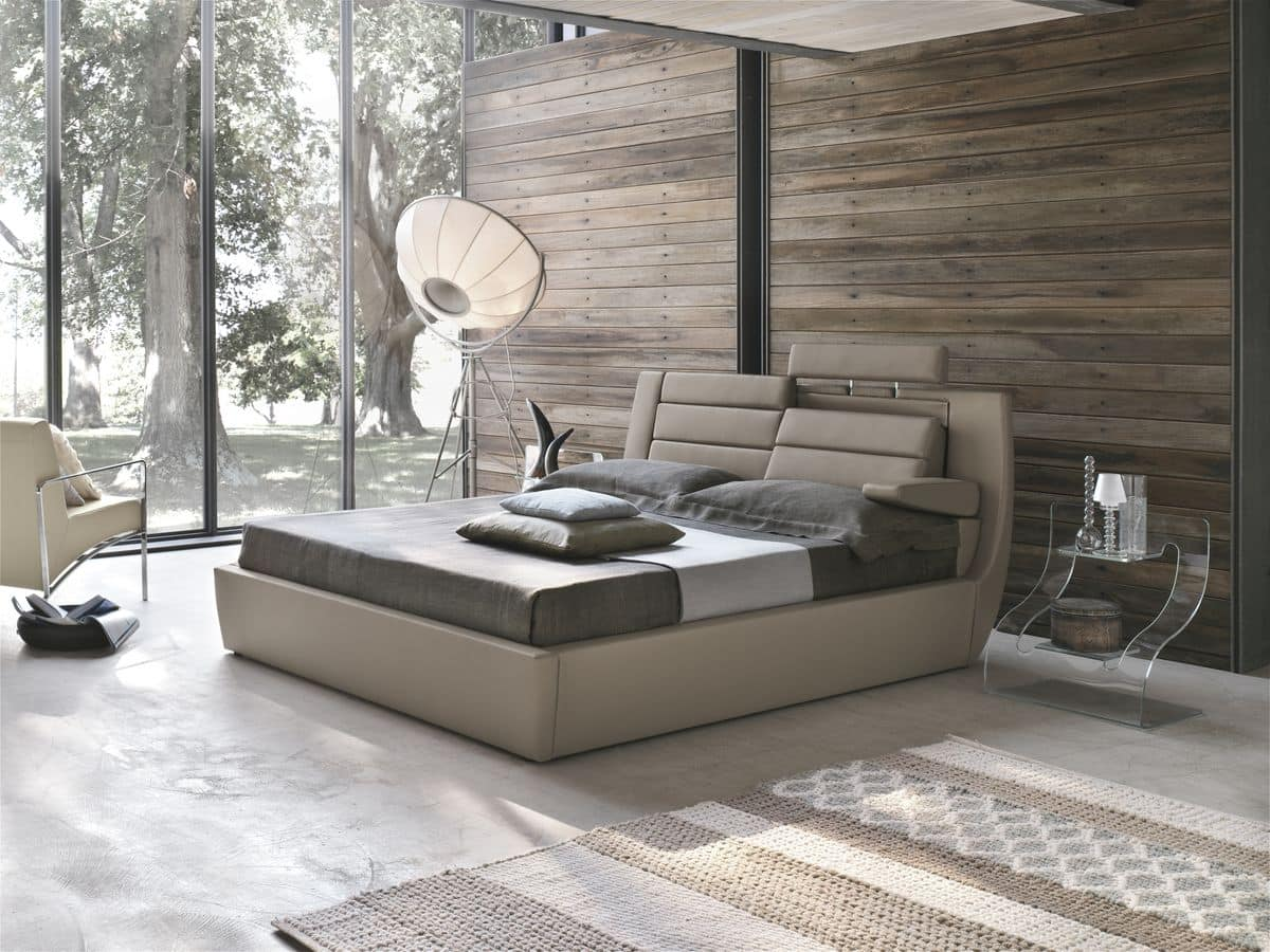 ROMA KB441, Modern transformable bed suitable for hotels and bedrooms
