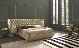 Picture of Selene Extra Large, bed with upholstered frame