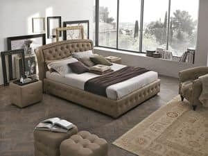Picture of SICILIA BD448, bed-with-upholstered-bedframe