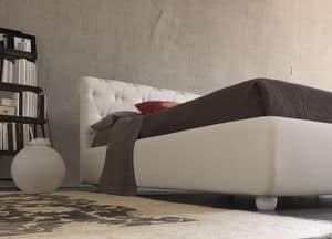 Picture of Sienna, beds with fabric headboard