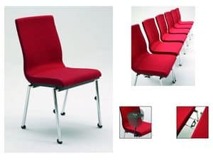 Flair 17/1, Fireproof padded chair, various options available