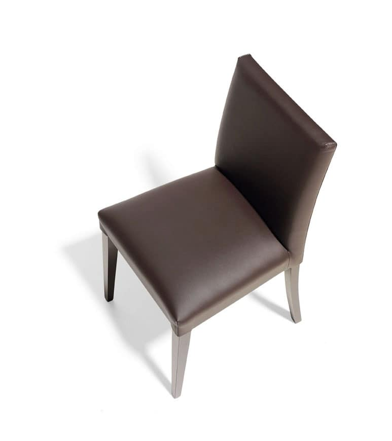 RELAX BASSA, Upholstered chair with modern lines, for Conference rooms