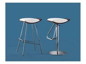 Picture of DRINK sg, padded modern barstool