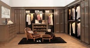 Picture of Art. Monterosso walk-in closet, suitable for walk-in closet