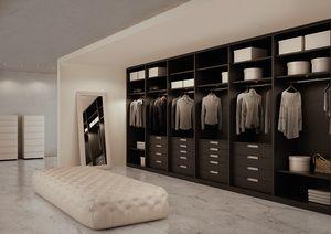 Picture of ATLANTE comp.07, modular walk-in closet