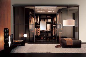 Free - Walk-in closet wenge, Design walk-in closet tailored, with wenge finish