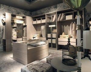 Habitat walk-in closet, Design dressing room, customizable