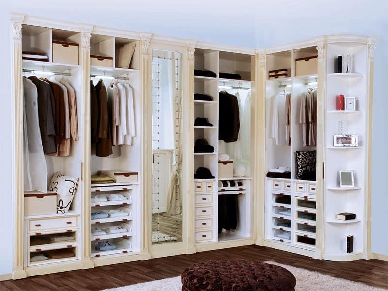 Storage wardrobes and walk in closets idf for Elegant walk in closet