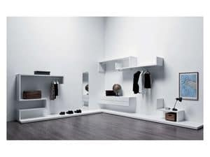 Picture of Libera 1 closet, space-saving wardrobes