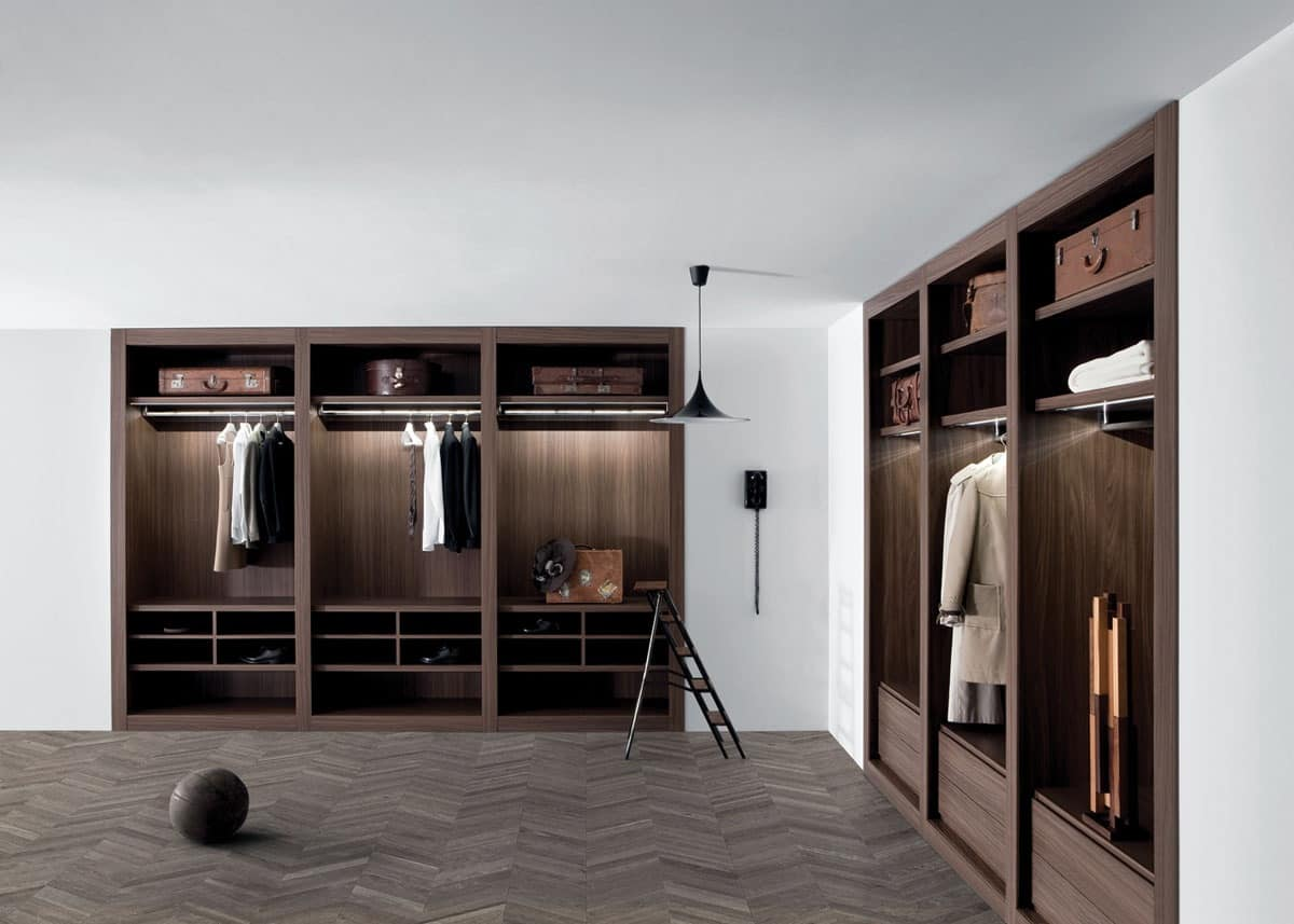 Picture of Sipario closet, suitable for cloak room