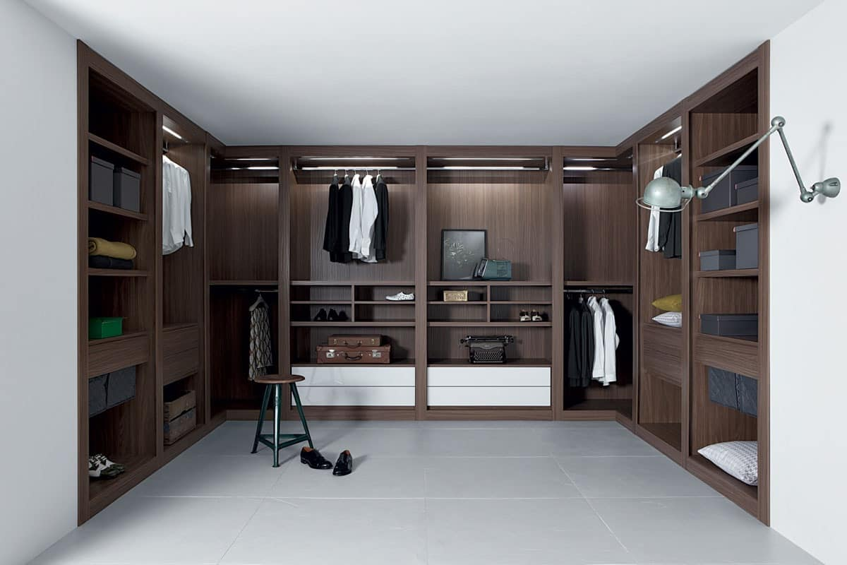 Picture of Sipario closet, modern wardrobes