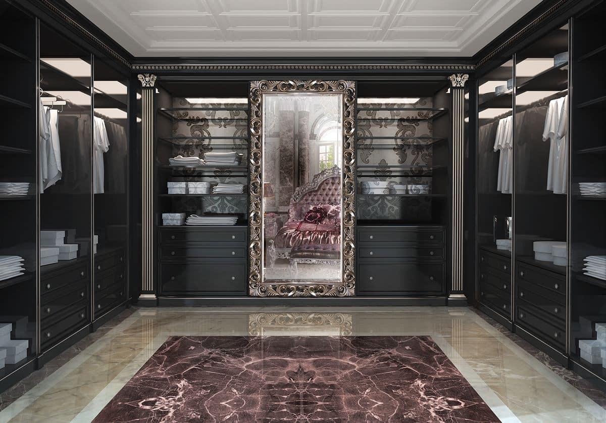 Customizable Walk In Closet In Classic Luxury Style