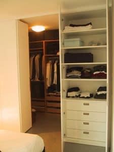 Walk in closet for bedroom and hallway, Custom closet for hallway and bedroom