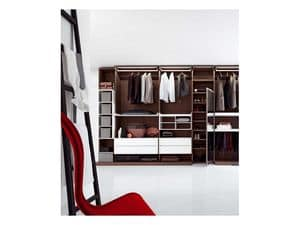 Picture of Walk-in closet Wing 3, modern wardrobes