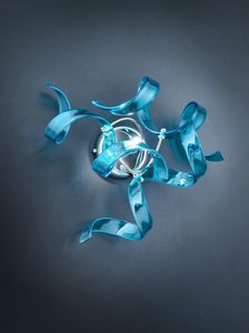 ASTRO � 25, Wall lamp in blown glass