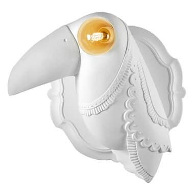 Cubano AP142 1B INT, Toucan shaped wall lamp
