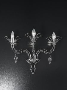 DEDALO L 56, Wall lamp in the shape of a candelabrum